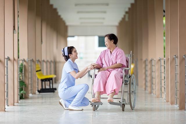 Nursing Assistant With Patient